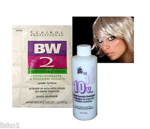 Clairol Bw2 Bleach Powder Hair Lightener W 4oz 10 Vol