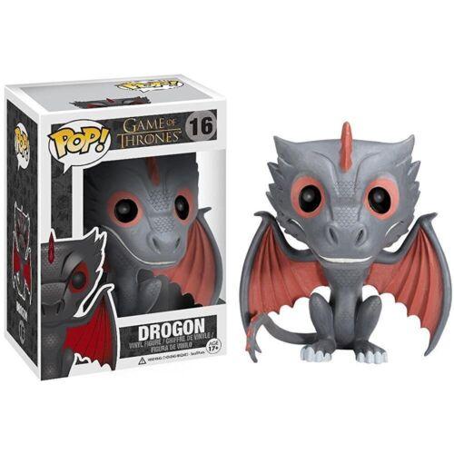Game of Thrones Daenerys Drogon Ride Jon Snow Wolf Figure Gift a GTC