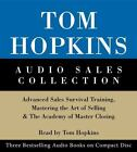 Tom Hopkins Audio Sales Collection : Advanced Sales Survival Training, Mastering the Art of Selling and the Academy of Master Closing by Tom Hopkins (2002, CD, Abridged, Unabridged)