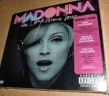 MADONNA THE CONFESSIONS TOUR  CD + DVD PHILIPPINES NEW