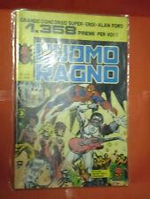 UOMO RAGNO spiderman -N° 275  -prima SERIE 1°- DEL 1977 -CORNO- usato NO PANINI