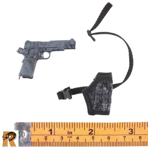 1//6 Scale MC Toys Action Figures Armed Maid 1911 Pistol w// Holster /& Mag