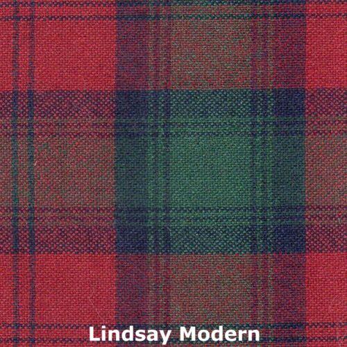 Scarf Clan Lindsay Modern Tartan Scottish Wool Plaid
