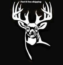 Whitetail Whisperer Sticker J882 6 inch deer hunting decal
