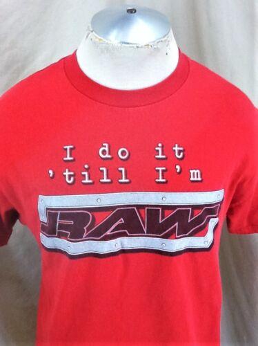 Pro T Wwf Raw Raw WrestlinglargeVintage shirt graphique 2002 2002 WrestlinglargeGraphic shirt T Vintage Wwf QdCxshrt