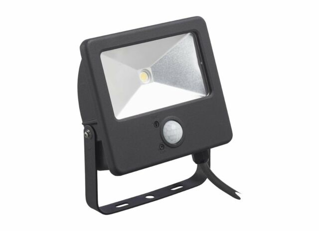 Sylvania 0047829 'Startflood' LED Floodlight with PIR Sensor Cool White - 50W