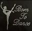 Personnalisé Strass Danse grenouillère Born to Dance Gymnastique Justaucorps Sweat à capuche Gerber
