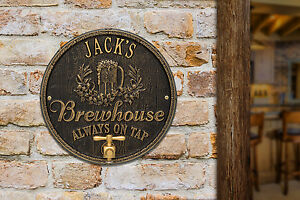 Oak-Barrel-Personalized-Beer-Pub-Plaque