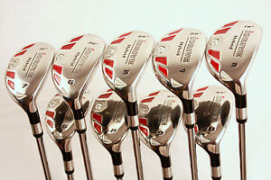 NEW-MENS-RESCUE-GOLF-HYBRID-ALL-HYBRIDS-3-4-5-6-7-8-9-PW-FREE-SW-COMPLETE-SET