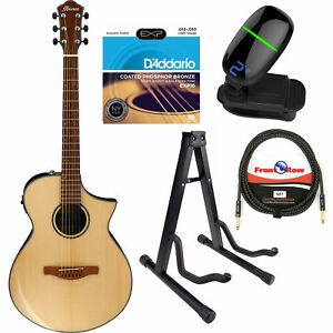 ibanez aewc300 aew series acoustic electric guitar w cable tuner stand strings 744271630824 ebay. Black Bedroom Furniture Sets. Home Design Ideas