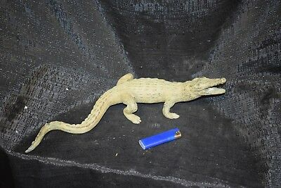 Energisch Bronze-krokodil, Brüssel, Sehr Schöne Antikpatina, 40cm Produkte HeißEr Verkauf