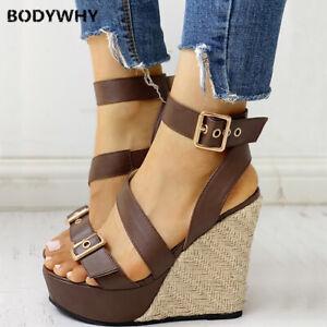 Wedge Heels 2020 Summer Sandals Top