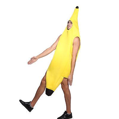 Men Banana Hawaiian fancy dress up Funny Costume Halloween Party Cosplay