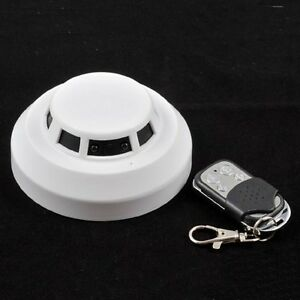 BATTERY-OPERATED-SMOKE-ALARM-CAMERA-VIDEO-RECORDER-NIGHT-VISION-MOTION-DETECTION