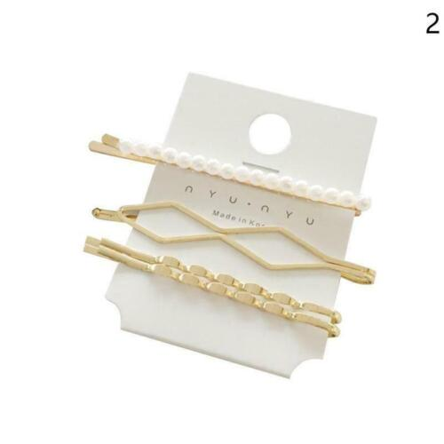 1Pc Metal Hair Clip Hairband Comb Bobby Pin Barrette Hairpin Headdress H6J3