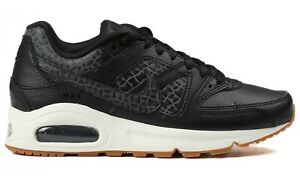 reputable site 53cd5 f8555 Image is loading Nike-Wmns-Air-Max-Command-Prm-Black-Sail-
