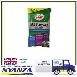 Turtle One Shot Wax Max Power Car Wash Sachet Shampoo Wash Cleaning
