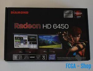 Diamond-AMD-Radeon-HD-6450-PCIE-1GB-DDR3-VGA-DVI-HDMI-Low-Profile-Video-Card