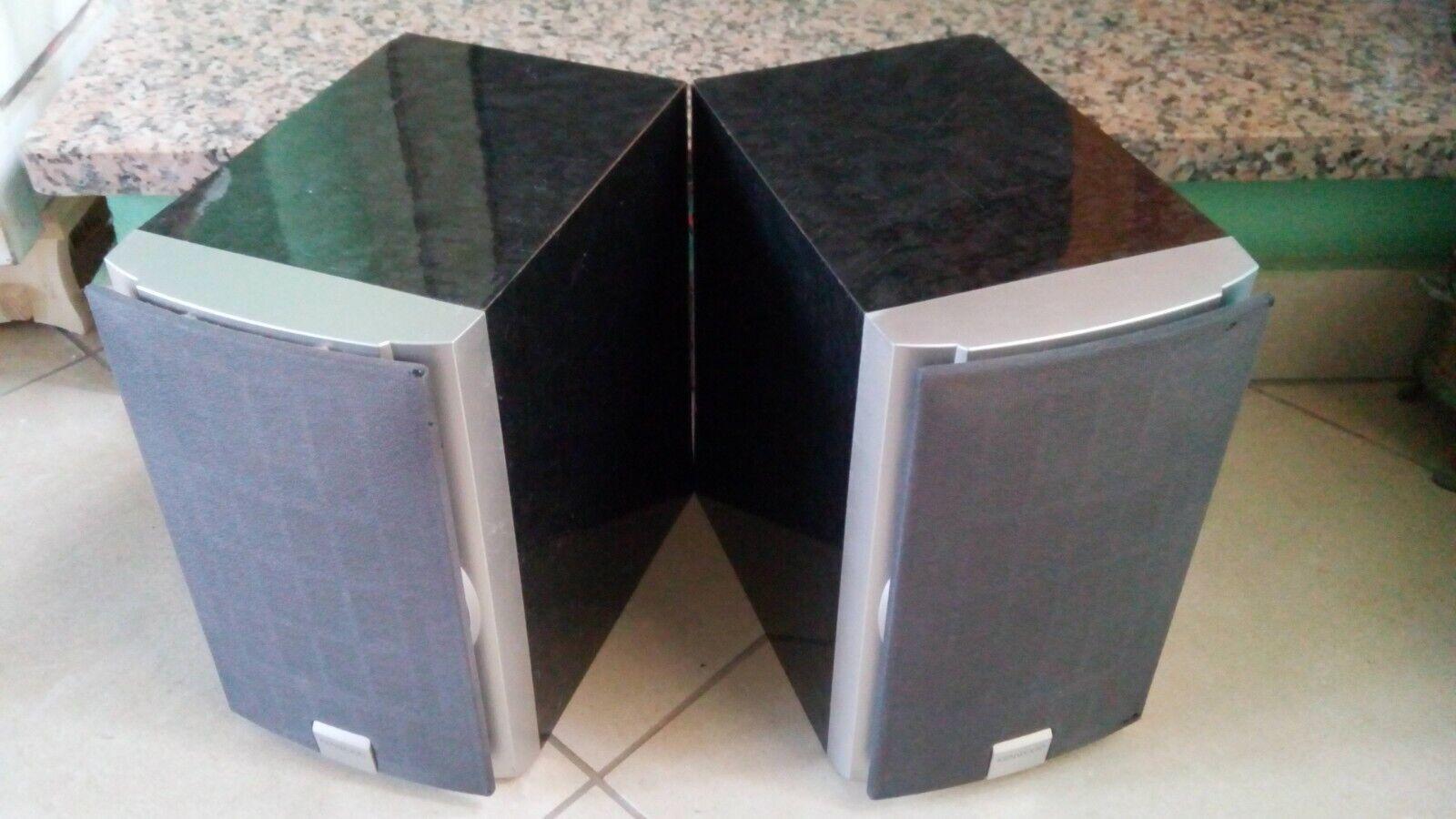 Kenwood LS-M31, 2-way speakers, undamaged drivers, 20 W, 4 Ohms