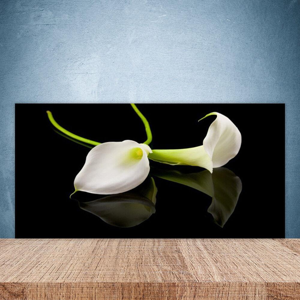 crédence de 100x50 cuisine en verre panneau paroi 100x50 de floral