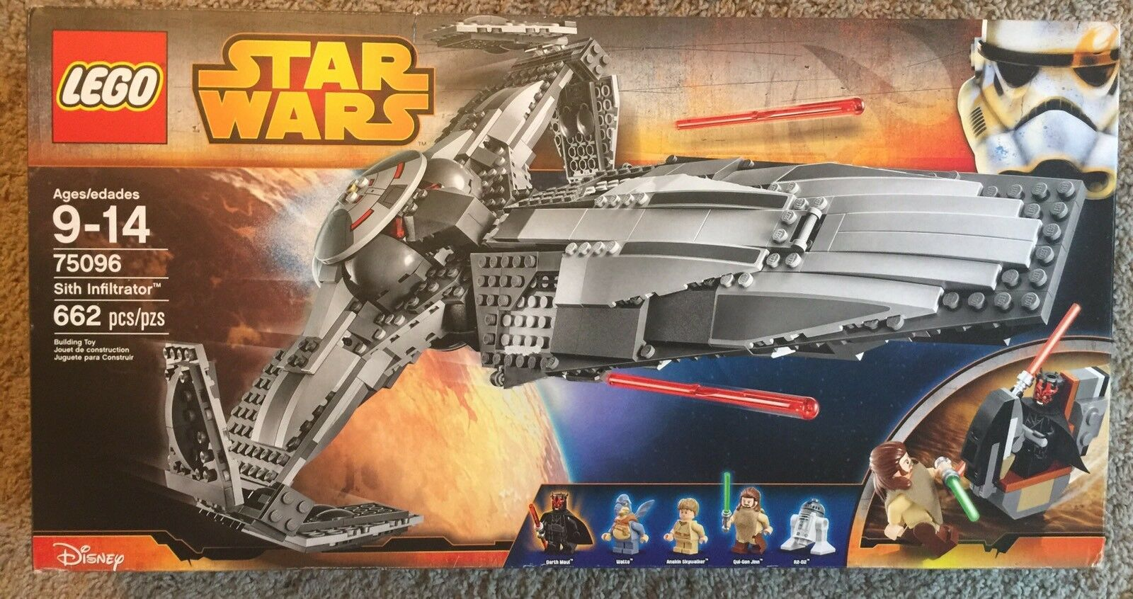 LEGO Star Wars Sith Infiltrator  75096  * NEW * SEALED * RETIrosso