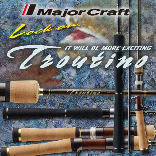 Major Craft  Troutino MOBILE  TTA-604SUL  (4pc)  - Free Shipping from Japan
