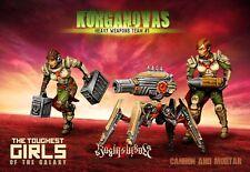RAGING Eroi LE TRUPPE D'URTO kurganova armi pesanti Team #01