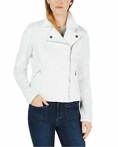 Maison-Jules-Moto-Jacket-White-Size-L