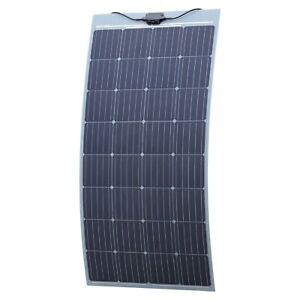 150w Semi Flexible Solar Panel With Self Adhesive Backing Made In Austria 5060297342974 Ebay