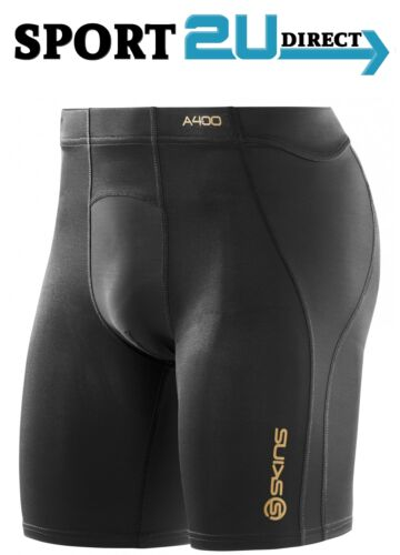 Black Skins Compression A400 Mens Power Shorts NEW! bargain