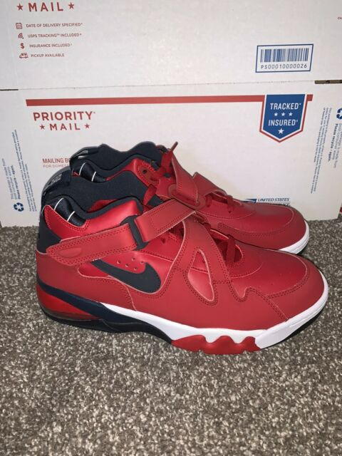Canal Democracia Remolque  Nike Air Force Max CB Leather Shoes Mens Sz 10 Charles Barkley Cj0144 600  for sale online | eBay
