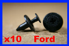 10 FORD universale auto auto cornice bordo di plastica A pressione per pannelli