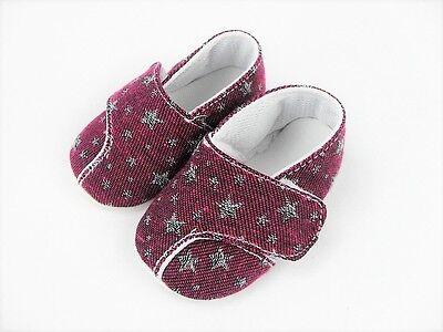 Babyschuhe Krabbelschuhe Lauflernschuhe Sterne Mädchen Jungen 16 17 18