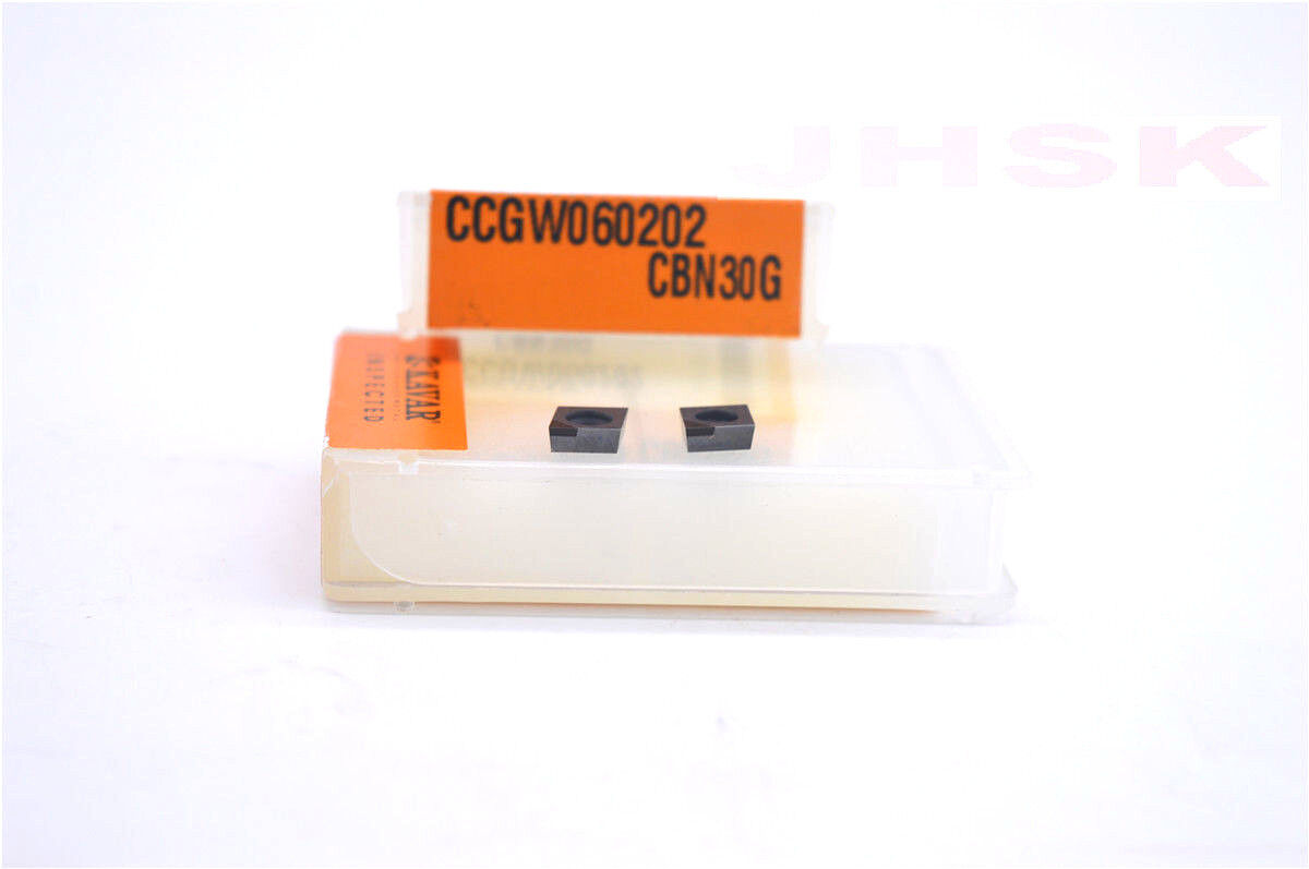 CCGW21.50.5 CBN30G  High hardness carbide bits for stee 2pcs CCGW060202 CBN30G