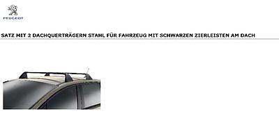VDP Dachtr/äger PRO kompatibel mit Peugeot Expert III ab 16 2 Stangen