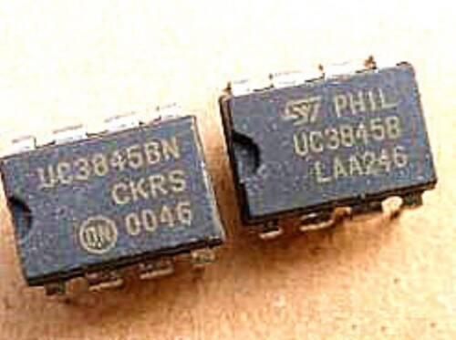 TI//ST UC3845B DIP-8 HIGH PERFORMANCE CURRENT MODE PWM