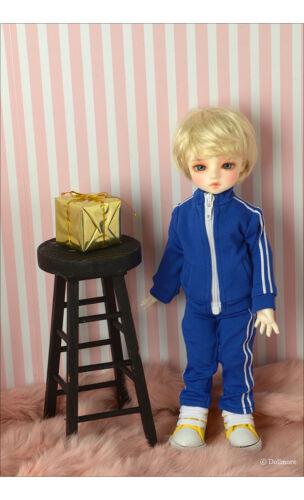 Felix Pants Blue 1//6 BJD YoSD elasticity sports wear dollmore Dear Doll Size
