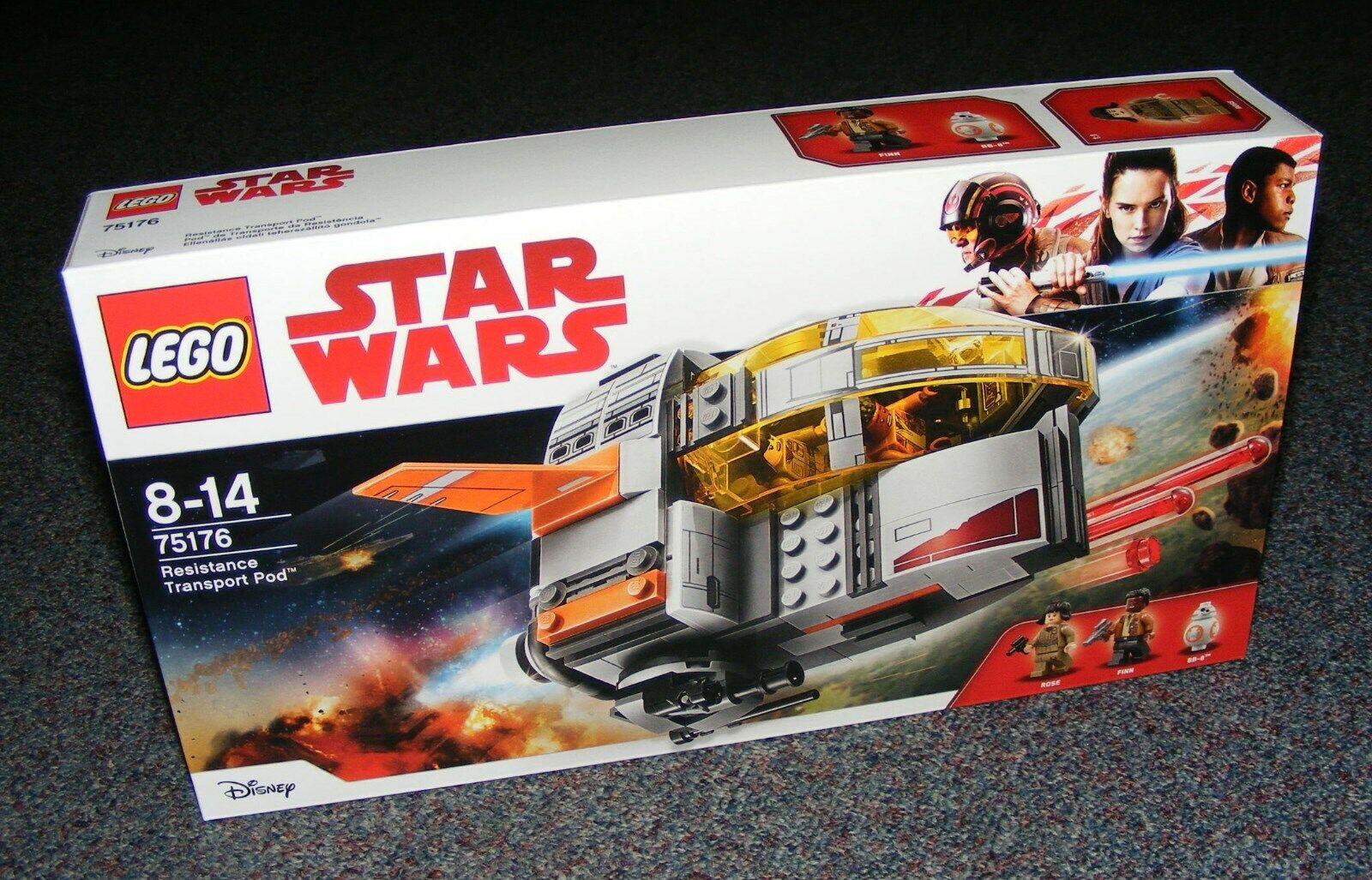 STAR WARS LEGO 75176 RESISTANCE TRANSPORT POD BRAND NEW SEALED