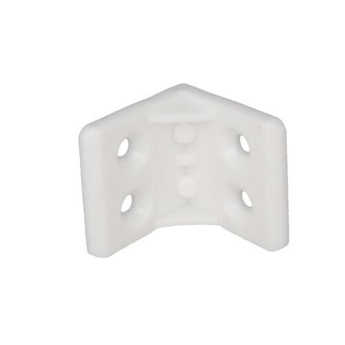 28mm Plastic Furniture Corner Brace Joint Right Angle Board Holder Shelf Support