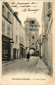 CPA St-JEAN-d'ANGÉLY - La Grosse Horloge (104616)