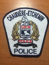 PATCH POLICE CANADA - CHAUDIERE-ETCHEMIN - ( QUEBEC ) - ORIGINAL!