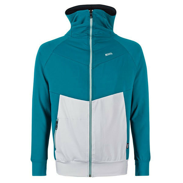 Nihil Men Mirage Jacket Sportjacke Trainingsjacke Freizeit Jacke Jacke Jacke 80er Jahre Look 1329df