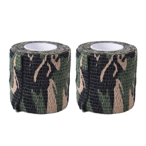 4,5 Mt Military Stretch Medical Bandage Camouflage Band Selbstklebende Waffe BCÄ