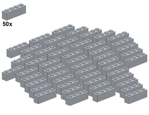- Stein-Grigio chiaro 1x4 LEGO ® 50stk Bricks-lightbluishgray 3010-10