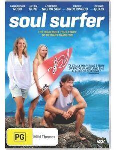 Soul-Surfer-NEW-DVD-Helen-Hunt-Dennis-Quaid-Region-4-Australia