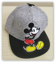 Disney Mickey Mouse Baseball Cap Adult One Size Black/white/red/yellow