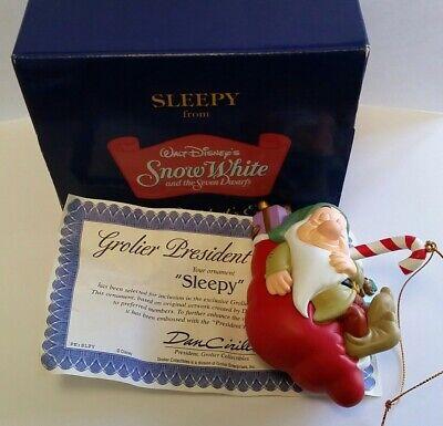 "Disney Grolier President/'s Edition /""Sleepy/"" from Snow White /& The Seven Dwarfs"