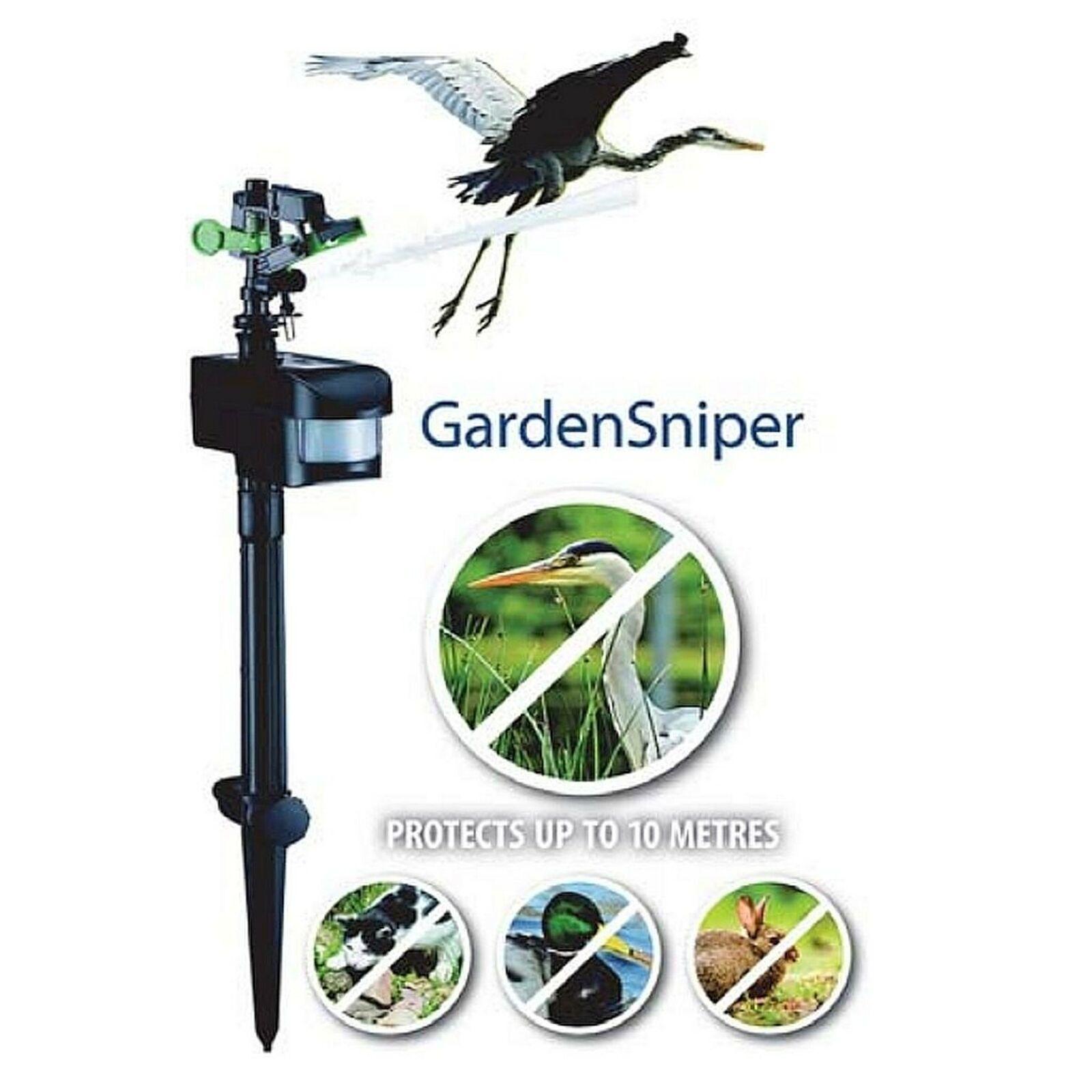 Aquaforte Garden Sniper, Reiherschreck, Vogelschreck, Katzenschreck