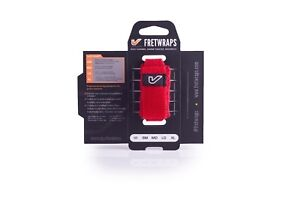 """LARGE RED Gruv Gear Fretwraps Professional String Muter /""""Fire/"""" NEW"""