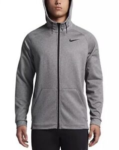 6ce1f3f5 Nike Long Sleeve Thermal Hoodie 868323-091 Carbon Heather Size 2XLT ...